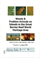 Turner etal 2001 Weeds and problem animals on islands in the GBRWHA.pdf.jpg